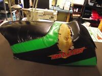 Snowmobile season is almost here !! Get your seat redone now !!