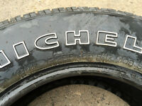 255 65 17 TIRES Set of 4 MICHELIN