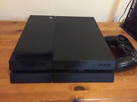 PS4 500 GB with Fallout 3 and Fifa 16 with controller