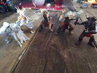 Toy figures x5