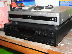 "Sony 5disc CD player  - plus - Sony DVD recorder ""REDUCED"""