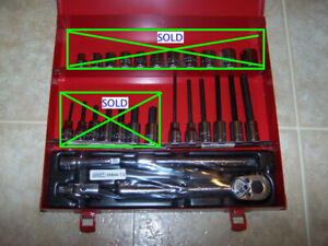 NEW GRAY Metric Hand Tools: for sale or TRADE