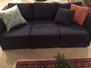 Sofa - 3 seat sofa - excellent condition- reduced price West Island Greater Montréal image 1