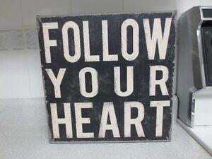 Follow Your Heart Canvas Wall Art