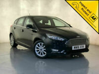 2016 FORD FOCUS TITANIUM TDCI SAT NAV PARKING SENSORS £0 ROAD TAX SVC HISTORY