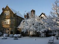 Romantic stay in a Four Poster Deluxe Room at Ockenden Manor Hotel & Spa (Cuckfield)