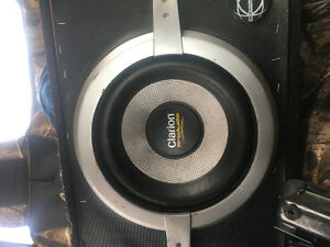"10"" sub with amp"