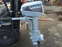 Low Hour Yacht Twin Kicker Outboard