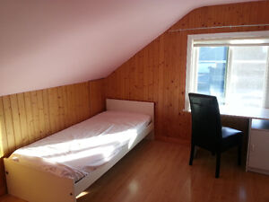 Private Furnished Bedroom in Excellent Location