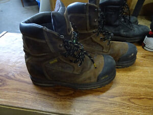 dakota winter leather insulated steel toed boots with duraguard