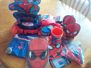 Spider-Man Birthday decor