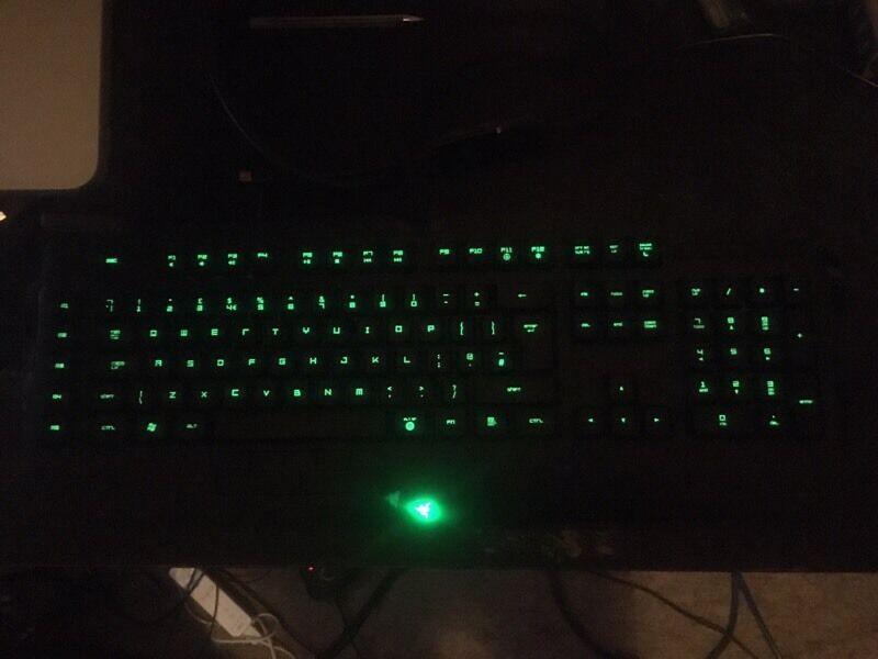 Razer Anasi MMO Keyboard & Razer Naga Mouse