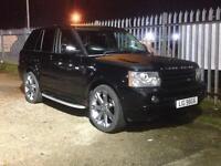 2006 Range Rover Sport Hse 2.7 Tdv6 Black