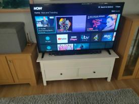 60 seiki smart TV with remote