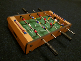 Mini table top football foosball wooden soccer game