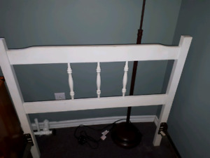 Single bed frame/head and foot board