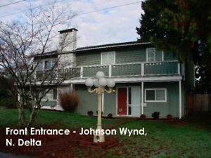 Bright/Warm 3-Br main Flr in Nordel N.Delta, Avail. Jan01/18