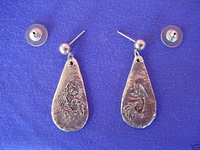 Chinese Crested Earrings Show Dog Jewelry ear rings #2