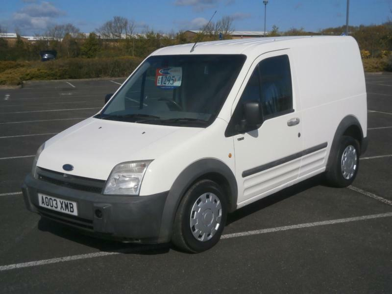 2003 03 FORD TRANSIT CONNECT T200 18 TDDI SWB PANEL VAN CHEAP
