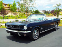 1966 CLASSIC MUSTANG DST CONVERTIBLE