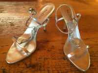 Aldo - silver high heel shoes - new condition