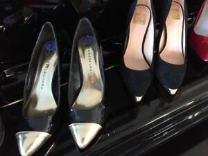 3 Pairs of Stiletto heels.   DV,Guess, Chinese Laundry 10.00 ea.