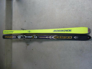 Rossignol Dualtec Energy All Mountain Ski & Salomon 800 Bindings