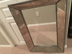 Home Depot Beaded Mirror