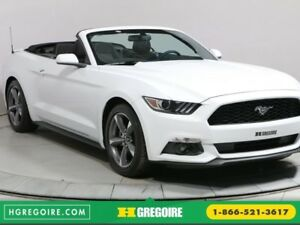 2017 Ford Mustang CONVERTIBLE V6 AUTO A/C MAGS BLUETOOTH CAMÉRA