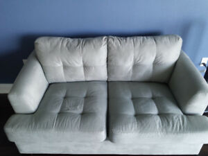 Cindy Crawford Loveseat - Light Grey - Compare: $729 (The Brick)