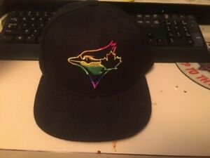 Gay Pride Toronto Blue Jays ball cap 2018
