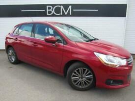 2012 Citroen C4 1.6 HDi 16v VTR+ 5dr Diesel red Manual