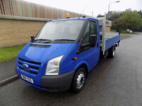 FORD TRANSIT 350LWB FLAT BED PICK UP 2.4 TWIN REAR WHEEL 100 BHP 6 SPEED 2011 11