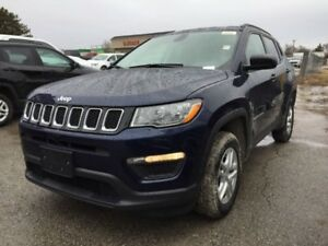 2018 Jeep Compass Sport  - Heated Seats - $183.94 B/W
