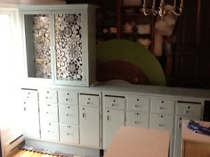 Craft cabinets and display