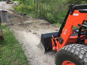 Kubota M7060 4x4 Loader Tractor For Rent