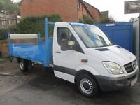 2012 12 MERCEDES-BENZ SPRINTER 2.1 313 CDI LWB 130PSI 14FT DROPSIDE WITH TAIL