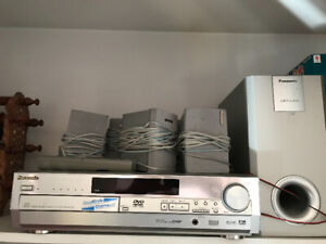 DVD home theatre stereo sound system