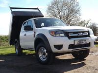 Ford Ranger Supercab Tipper 4WD 4x4 XL 2009/59 NEW TIPPING BODY Transit tipper