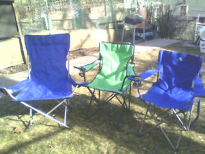 Lawn  chairs +