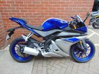 2015(65) YAMAHA YZF- R125 - LOW MILEAGE FSH 1 OWNER