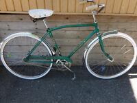 vélo de ville une vitesse glider vintage