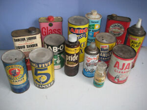 VINTAGE/ANTIQUE CONTAINERS