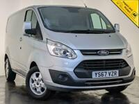 2017 67 FORD TRANSIT CUSTOM 270 LIMITED PARKING SENSORS AIR CON SERVICE HISTORY