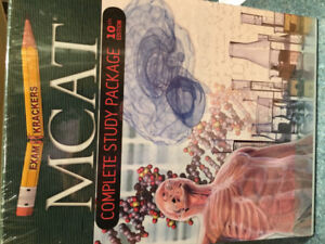 MCAT Exam Krackers Complete Study Package 10th Edition (new)