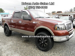 2005 Ford F-150 King ranch Crew 4x4 bluetooth Pickup Truck