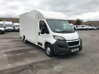 Peugeot Boxer 2.2 Hdi LUTON LOW LOADER 130Ps DIESEL MANUAL WHITE (2015)