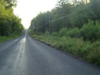 Enjoy  privacy of wooded lot with brook, Scotchtown,Grand Lake
