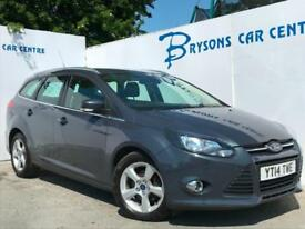 2014 14 Ford Focus 1.6TDCi (105ps) ECOnetic Zetec Navigator for sale in AYRSHIRE