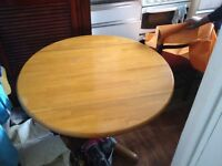 Solid wood table £30